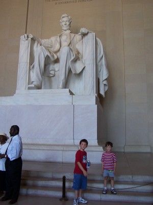 The Boys and Lincoln