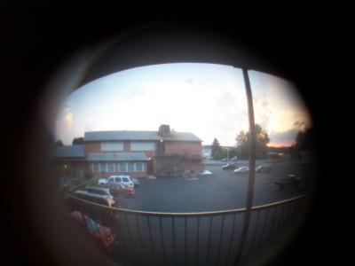 Peephole at Sunset